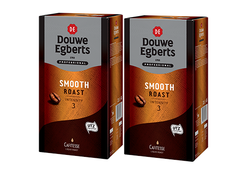 KOFFIE.Cafitesse Smooth Roast Intensity3 2x2L DouweEgberts