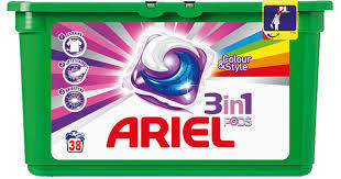 REIN.Ariel 3-in-1 Pods Color Box 42 stuks