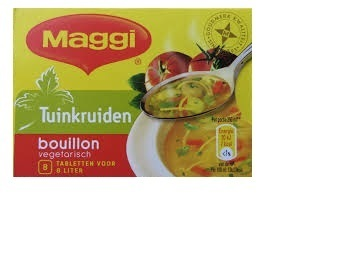 FOOD.Bouillonblokjes Tuink. Tray 20x8st./80gr. Maggi