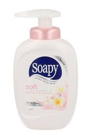 REIN.Soapy Soft Tray/Pomp 3x330ml.