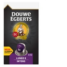 KOFFIE.Lungo 8 Intens Capsule 10st. DouweEgberts