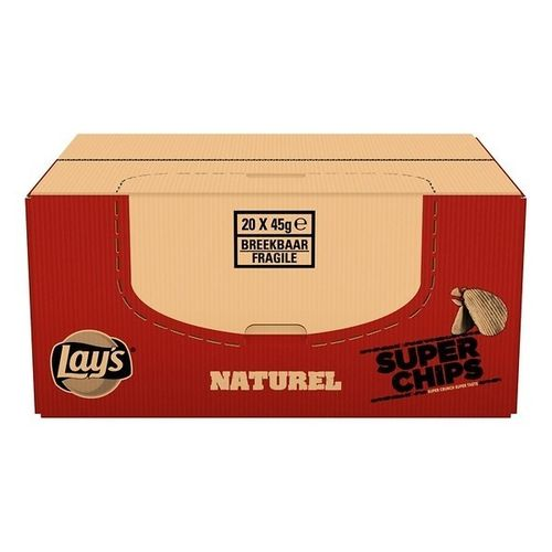 CHIPS.Superchips Naturel 20x45 Lays